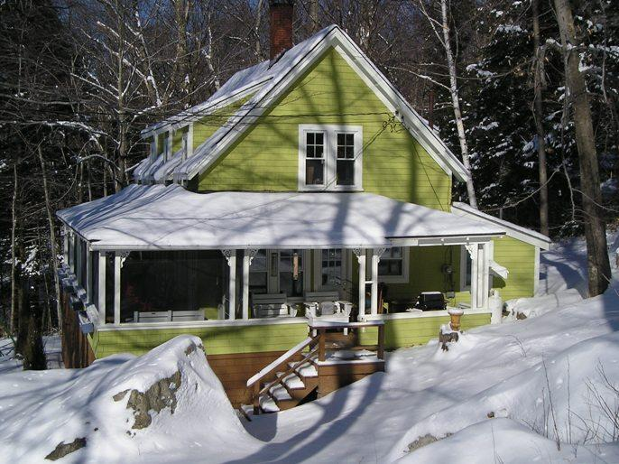 Nestled into the hillside. - Cozy Cabin with Fireplace | Dogs Welcome - Bartlett - rentals