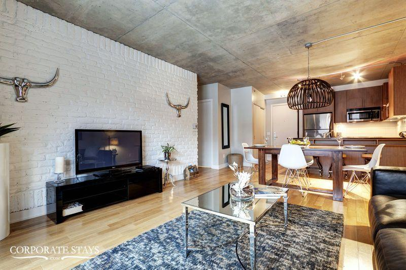 Pearl 1BR | Furnished Corporate Rental | Montreal - Image 1 - Montreal - rentals