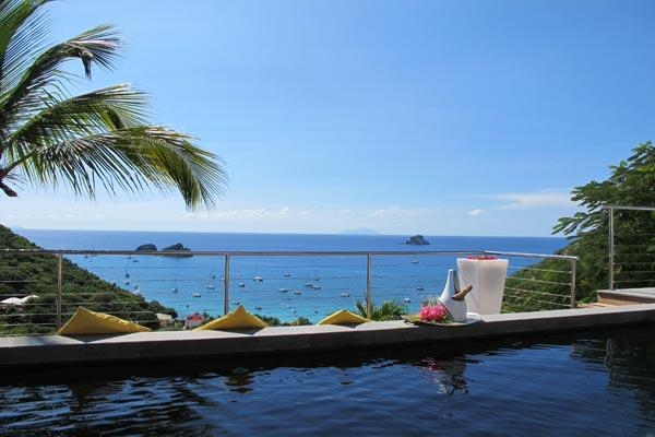 Modern villa with a magnificent view on Gustavia and Corossal Bays WV DAG - Image 1 - Colombier - rentals