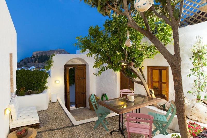 """Magic"" views - Amazing  G Cottage with spectacular views - Lindos - rentals"