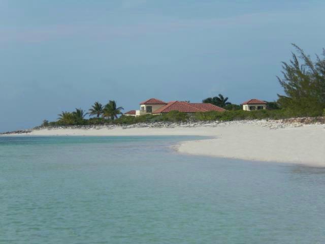 Looking At JODO from Parrot Cay - JODO - Sandy Pt - 7 Acres 2 NEW LUXURY VILLAS - North Caicos - rentals
