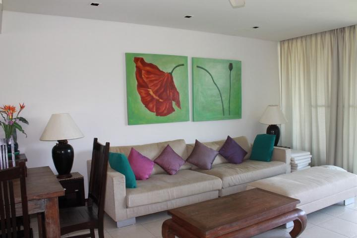 Living room - Peaceful 2 bedroom apartment - Phuket - rentals