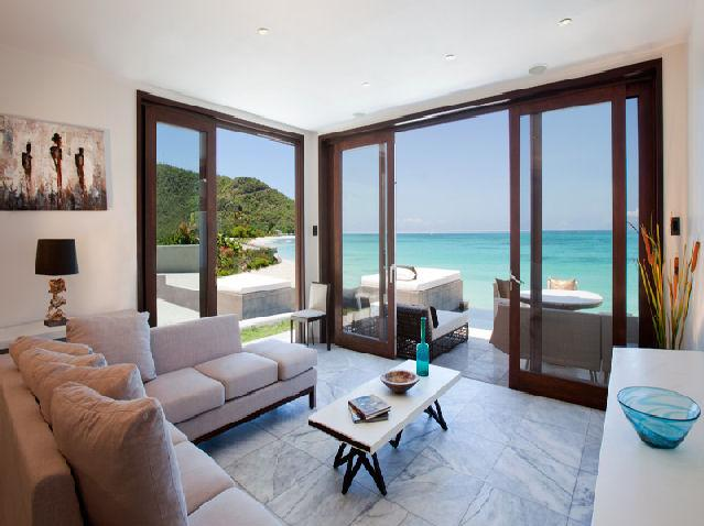 SeaRay, B3 at Tamarind Hills, Antigua - Waterfront, Pool, Panoramic Views - Image 1 - Bolans - rentals