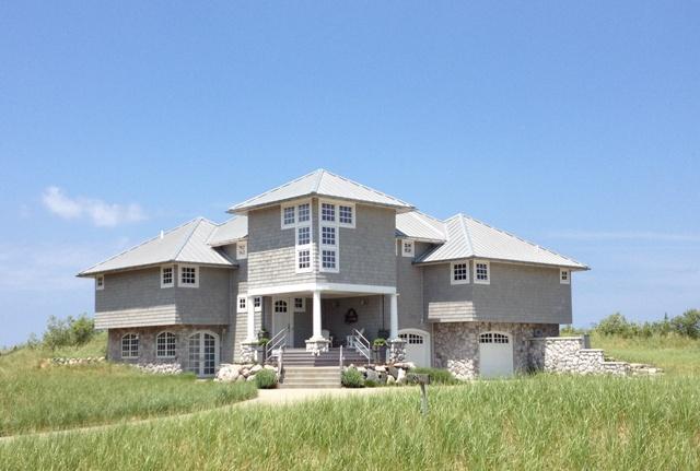 Stunning Lake Michigan Beachfront Vacation Home - Image 1 - Manistee - rentals