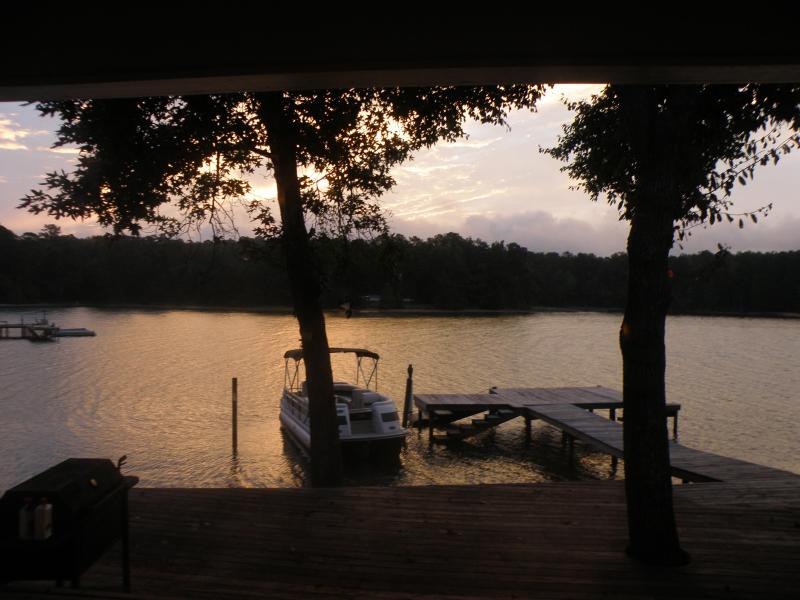 enjoy beautiful sunrises from your comfortable bed - Lake Martin 11 br 9 ba Bayou Lodge and Guesthouse/Bayou Lake House - Dadeville - rentals