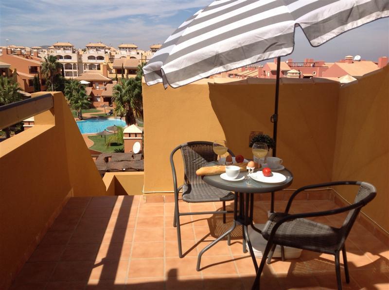 Penthouse - Roof Terrace - Free WiFi - Community Pool - 2108 - Image 1 - Mar de Cristal - rentals