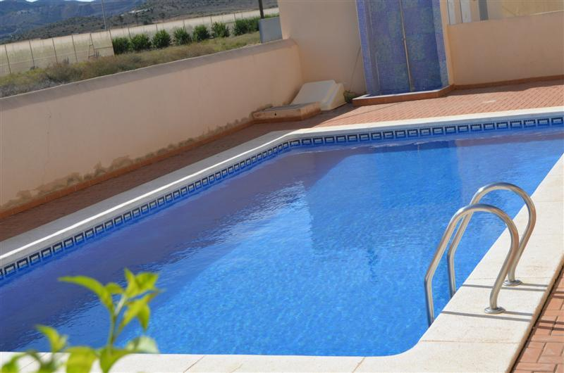 Front line Apartment - Sea View - Large Patio - Communal Pool - Parking - 8506 - Image 1 - Los Nietos - rentals