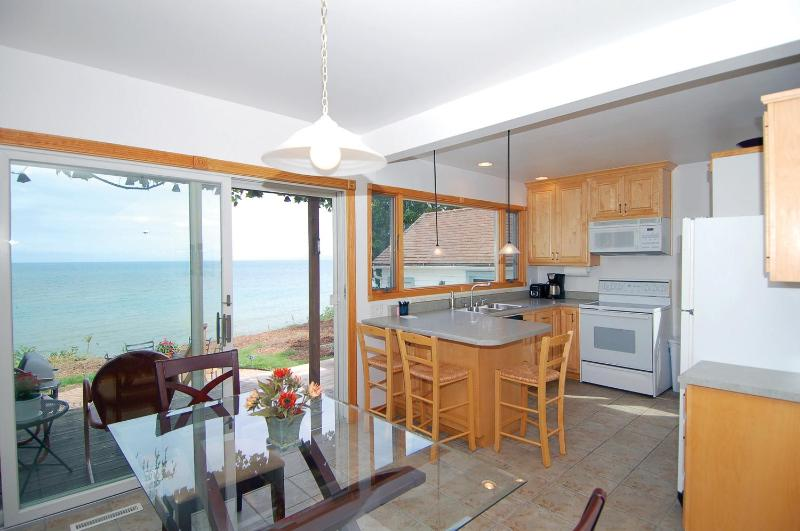 Lake view - Lake Shore House on Lake Michigan, Sheboygan, WI! - Sheboygan - rentals