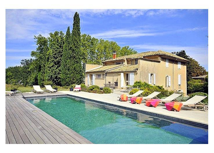 La Blancherie Du Luberon, Charming Vacation Home with a Pool - Image 1 - Apt - rentals