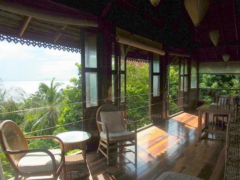 Seaview from balcony - Haadrin Seaview Villa Koh Phangan - Koh Phangan - rentals