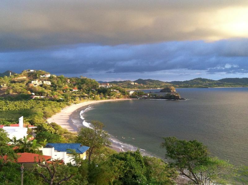 View from upper terrace - Casa Las Brisas - Playa Flamingo - rentals