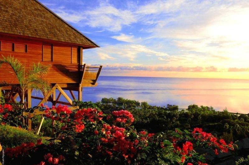 Villas Noa Noa - MOOREA- jacuzzi & nice ocean view - Image 1 - Papetoai - rentals