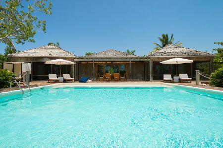 Serene beachfront The Residence - GH1- infinity pool & ensuite steam room - Image 1 - Parrot Cay - rentals