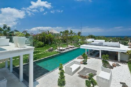 Villa Ombak Putih - Contemporary seaside villa, 150m from Cemagi beach with pool - Image 1 - Seseh - rentals