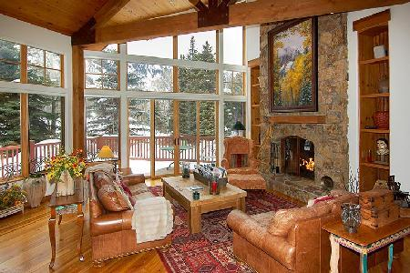 Stunning 101 Park Avenue features skiing, full service spa and work-out facility - Image 1 - Aspen - rentals