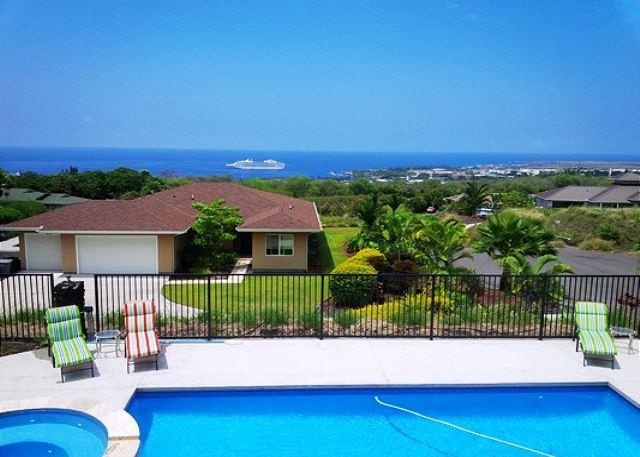 Ocean Views from Private Pool - Kawena5, Five bedrooms with 5 bathrooms, great Ocean View. - Kailua-Kona - rentals