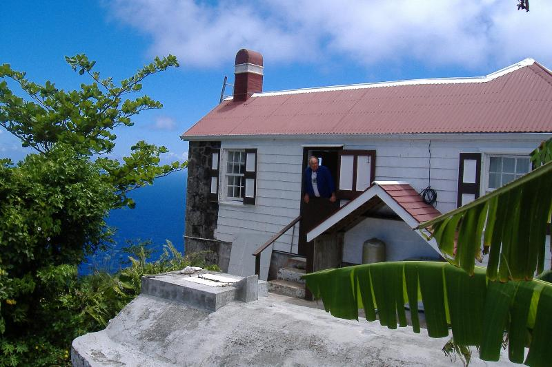 NORTH SIDE WITH ORIGINAL STONE CYSTERN - Constant Sea Breeze Cottage - Saba - rentals