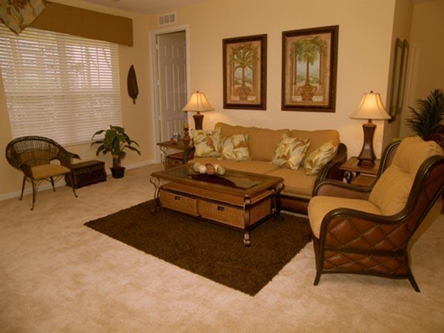 Antiqua Cay Living Room - Antiqua Cay Luxury Condo @ Vista Cay - Orlando - rentals