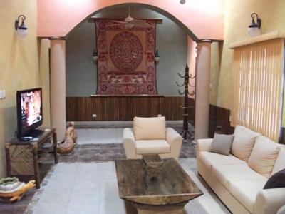 Living Room - Casa Merida-Luxurious Vacation Home In The Yucatan - Merida - rentals