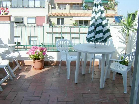Fantastic Attic Terrace Penthouse Apartment - Image 1 - Barcelona - rentals