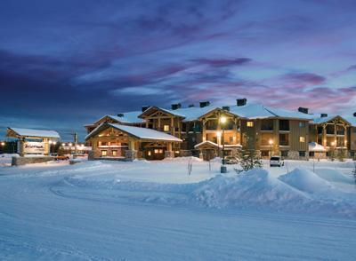 The resort in winter - WorldMark West Yellowstone, MT - West Yellowstone - rentals