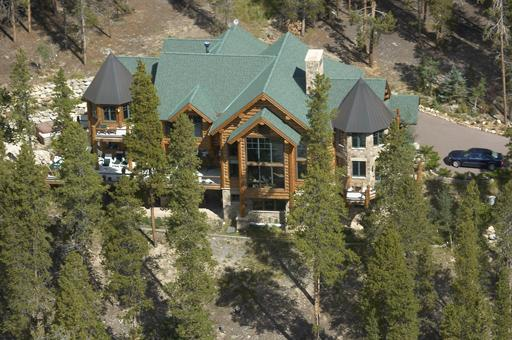 arial view of estate and surroundings - Magnificent $3 mill, 8620 Sf 6 bed/7 1/2 ba estate - Silverthorne - rentals