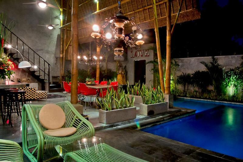 the villa view - Esha Seminyak II - Amazing location funky new villa will impress - Seminyak - rentals