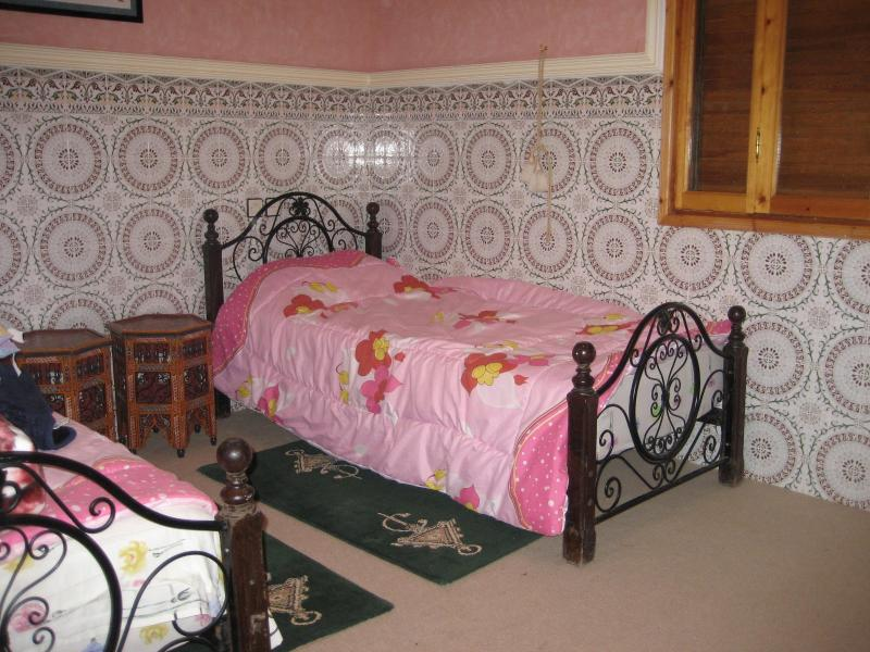 """Bedroom one - For only """"90""""euros/Night-rent whole villa w/pool - Marrakech - rentals"""