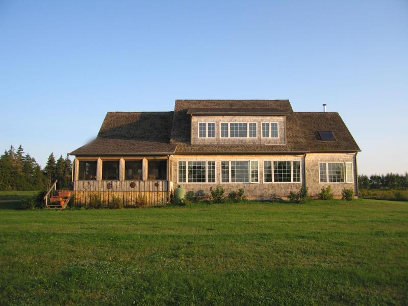 windows on the water - Luxury Beachouse on Beautiful Pt Prim Peninsula - Belfast - rentals