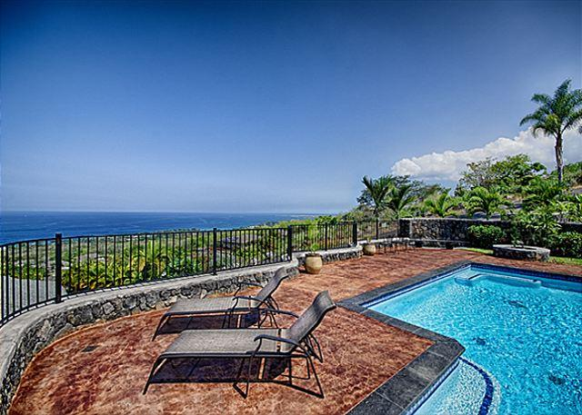 - Beautiful 4 bedroom home with Private Pool and unobstructed Ocean views - Kailua-Kona - rentals
