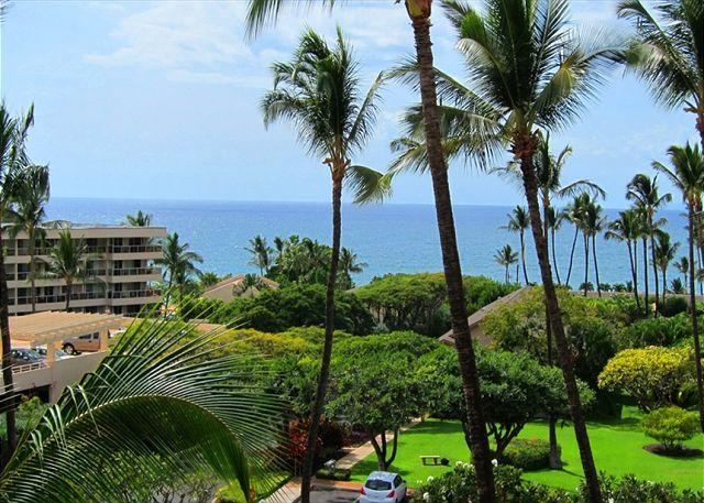 Beautiful Ocean View from Kihei Akahi D412 - Kihei Akahi D412 Oceanview 1/1 across from Kamaole Beach ll  Great Rates! - Kihei - rentals
