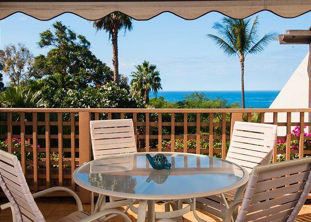 Maui Kamaole A202 Ocean View Front Row Nearest Beach 2B 2Ba Great Rates! - Image 1 - Kihei - rentals