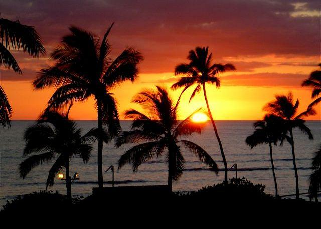 Taken from Lanai - Oct. 2012 - Island Surf #501 Panoramic Ocean View 2Bd/2Ba, $149 SUMMER SPECIAL! - Kihei - rentals