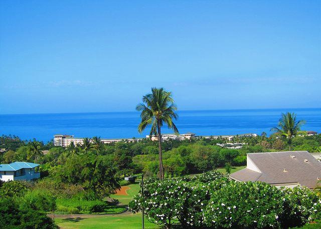Wailea Ekolu #1108  View From Lanai - Wailea Ekolu #1108 2 Bd. 2Ba. Premier Ocean View!   SUMMER SPECIAL May - Aug. - Wailea - rentals