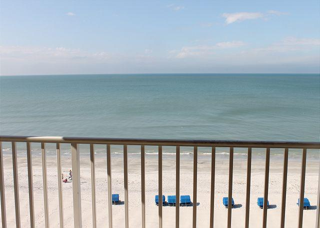 View West from Balcony - Sand Castle II Condominium 2801 - Indian Shores - rentals
