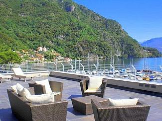 Relax on your private terrace with panoramic view - Luxury Marina villa close to Menaggio - Menaggio - rentals
