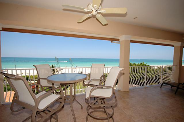 Step outside to the deck and enjoy the view - LaPlage #9 ~ Crown Jewel ~ Direct Gulf Front - Holmes Beach - rentals