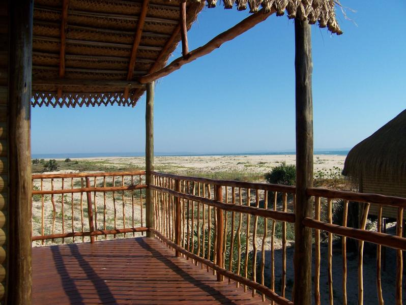 View from the Deck - 3 bedroom Oceanfront Home - Inhambane - rentals