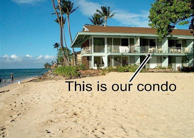 Hale Kai # 202 - Hale Kai # 202 – Overlooking the sand-You can't get much closer to the - Lahaina - rentals