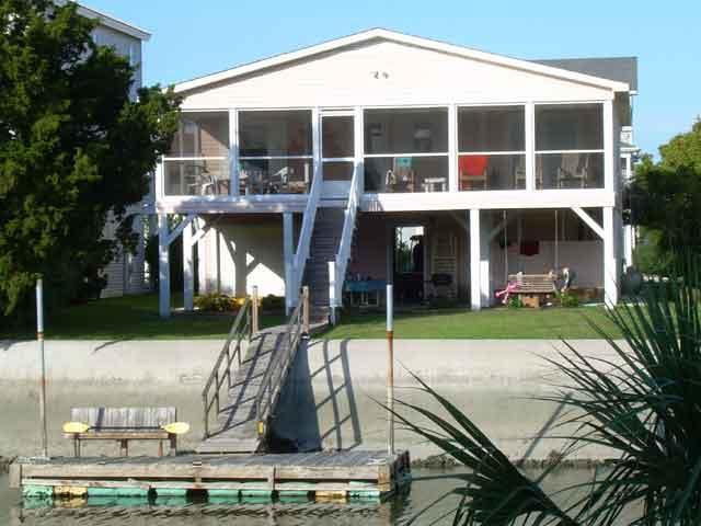 Canal Waterfront Home w/ private dock- 41 Newport - Image 1 - Ocean Isle Beach - rentals