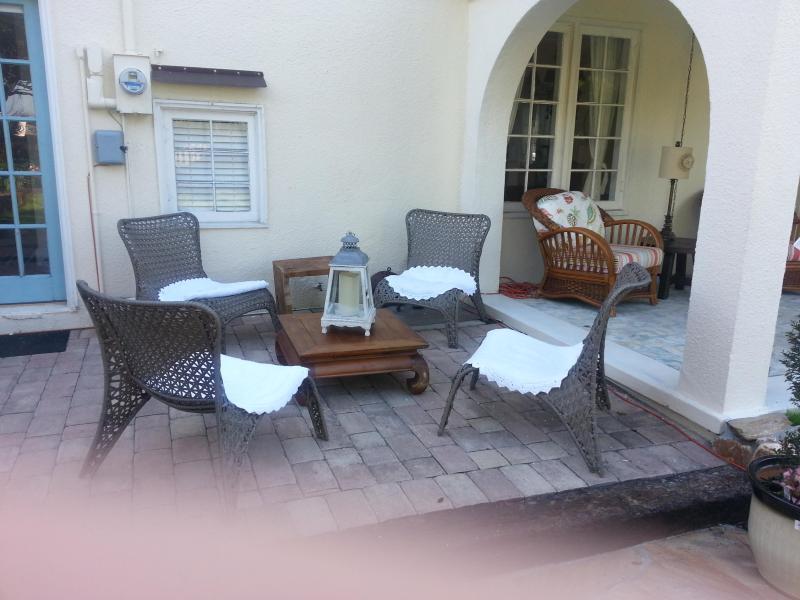 """Patio - Venice Island  Florida  """"Villa By The Sea"""" - Venice - rentals"""
