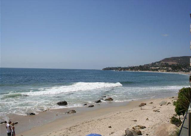 View from Lower Common Area Sundeck - Great August dates, 3 nights avail, steps to sand- coveted location. - Laguna Beach - rentals