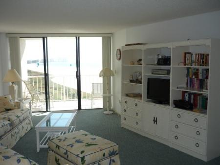 Open Living Area - Enjoy Beach views from this lovely and spacious condo in pristine Island Resort - Marco Island - rentals