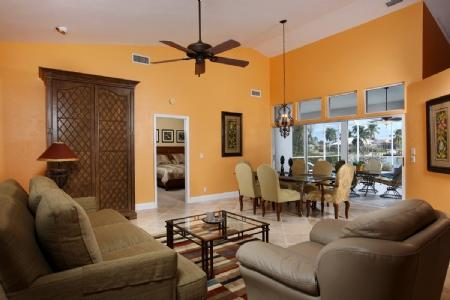 Great room/ Dining Area - 1725 Wavecrest - Marco Island - rentals