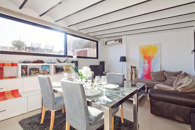 Dining Area - Picasso Penthouse with Terrace (2BR) - 5% OFF for SPRING PROMOTION - Barcelona - rentals