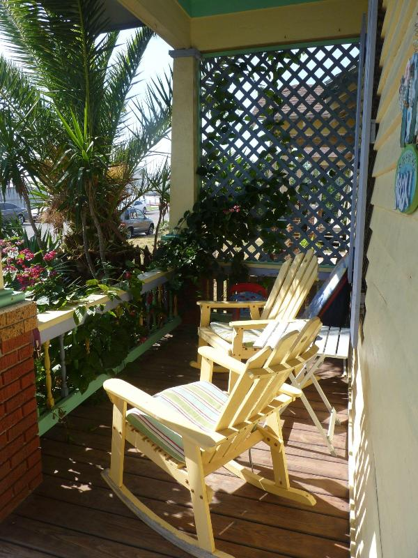 FRONT PORCH - Rental by the Pier - Galveston Island - rentals