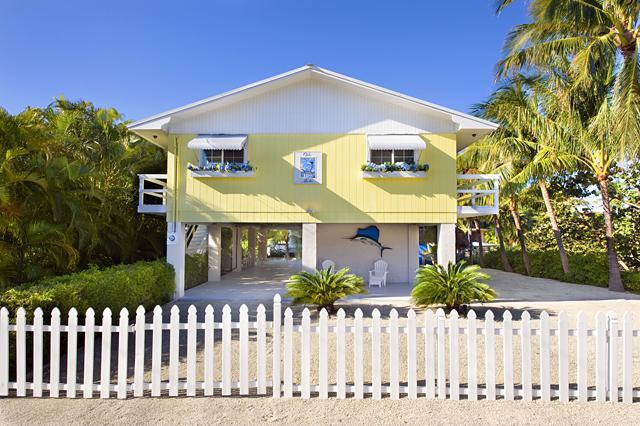 Front View - Villa Marlin, Renovated, Remodeled , Sandy Beach - Islamorada - rentals