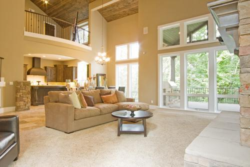 Luxury Living room with lovely garden views - A BEAUTIFUL LUXURY EXECUTIVE DESIGNER HOME  / MAUI - Kula - rentals