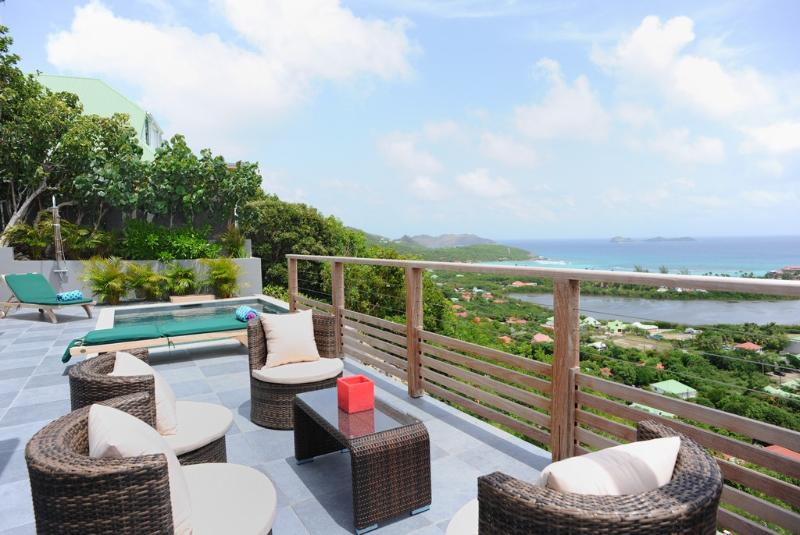 Adamas at Saint Jean, St. Barth - Panoramic View, Pool Overlooking Saint Jean Bay - Image 1 - Lorient - rentals