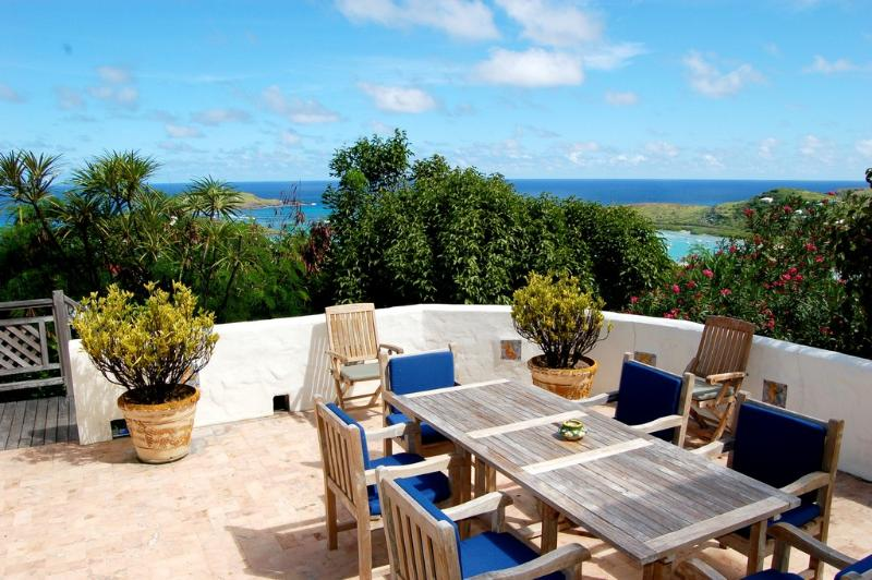 Kyody at Marigot, St. Barth - Ocean View, Large Living Area, Very Private - Image 1 - Marigot - rentals